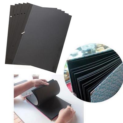 DIY相本補充頁40頁 自黏相本-送角貼-活頁手工相冊相簿