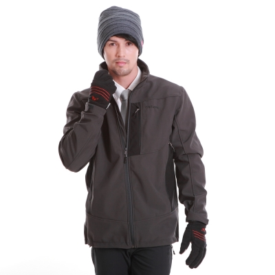 CARAVA 《軟殼防水禦寒外套》(深灰 )