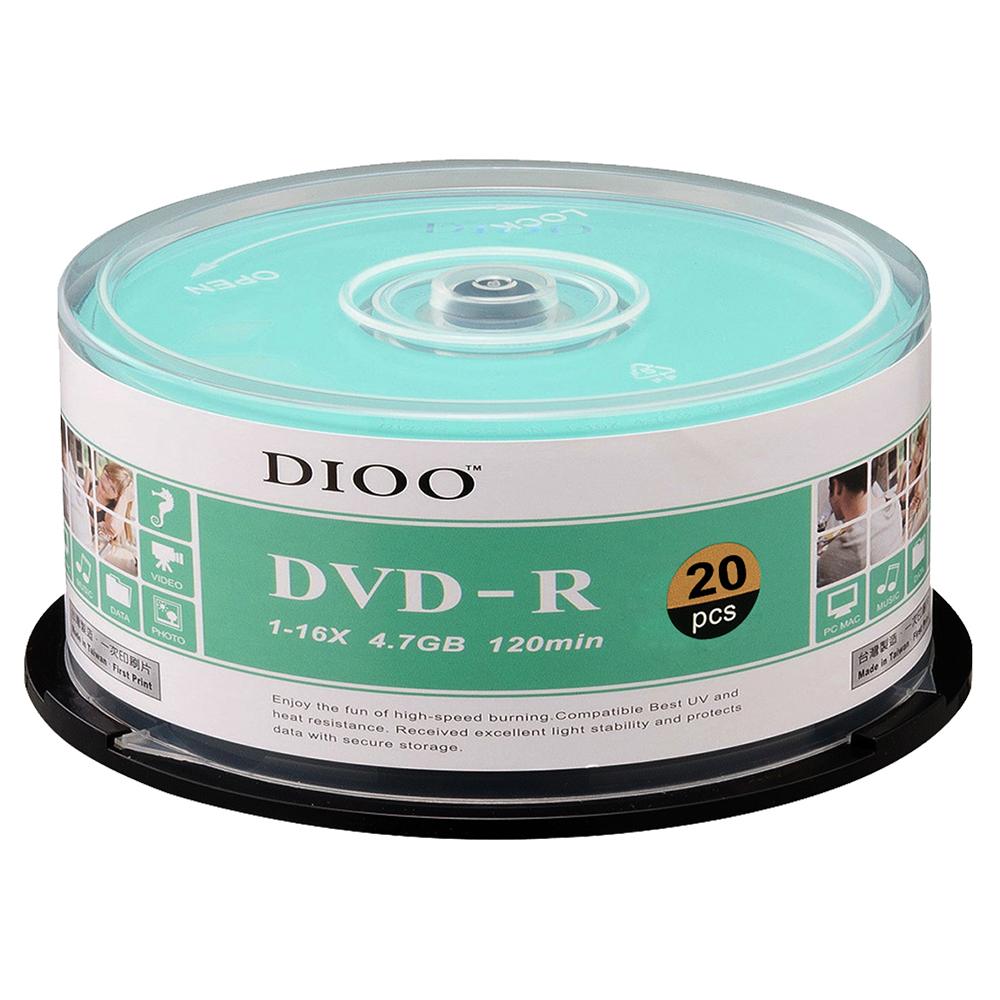 DIOO 海洋版 16X DVD-R 20片桶