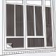 CARBUFF DIY居家玻璃靜電貼(黑色 60x300cm) MH-4039 product thumbnail 1