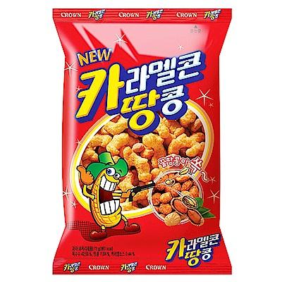 韓國Crown 焦糖花生脆果(72g)