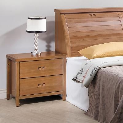 時尚屋 香杉美檜<b>2</b>尺床頭櫃 寬59cm-免組
