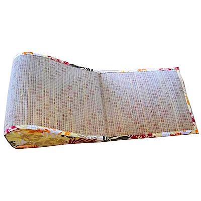 范登伯格 - 日式緹花藺草波浪枕 - 40 x 100cm