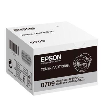 EPSON C13S050709 黑色碳粉匣