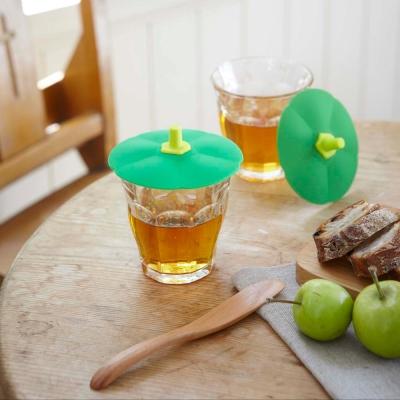 YAMAZAKI 蔬菜造型杯蓋-青椒