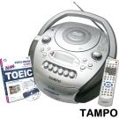 TAMPO全方位語言學習機(CRV-709A)+TOEIC新版多益模擬測驗