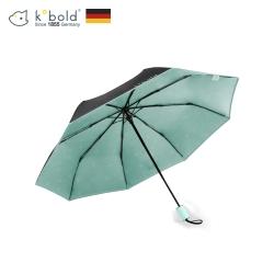 德國kobold酷波德 抗UV旋轉芭蕾系列-超輕巧-隱藏傘珠-遮陽防曬三折傘-淺粉綠