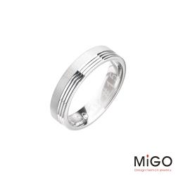 MiGO 永恆純銀男戒指
