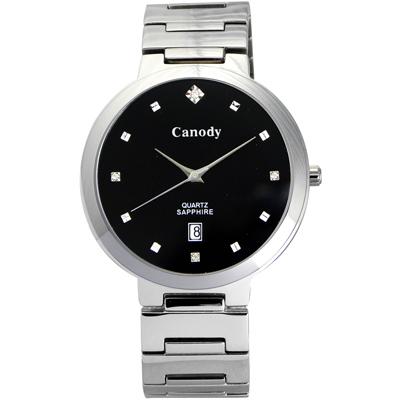 Canody 極度時尚都會腕錶(CM1226-A)-黑/39mm
