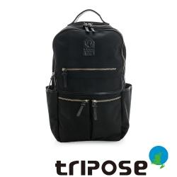 tripose STURDY系列輕都會機能後背包(大) - 黑