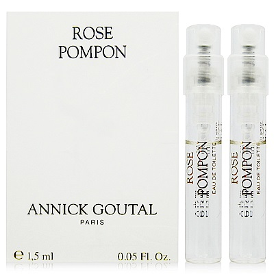 ANNICK GOUTAL 絨球玫瑰淡香水 針管1.5ml x2入 (法國進口)