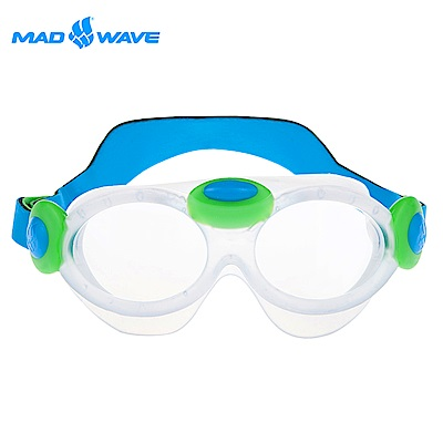 俄羅斯 邁俄威 兒童泳鏡 MADWAVE KIDS BUBBLE MASK