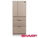 SHARP 夏普 601公升 變頻六門對開冰箱 SJ-GF60BT-T 星鑽棕/日本製