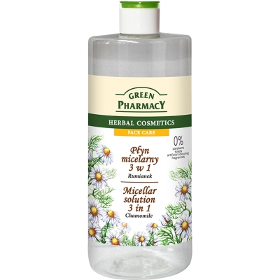 Green Pharmacy 草本肌曜 洋甘菊舒緩四效潔膚水 500ml