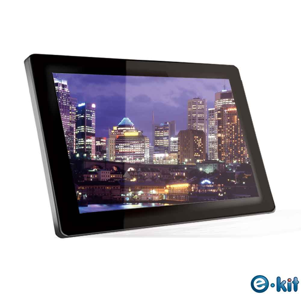 逸奇e-Kit 22吋玻璃防刮鏡面數位相框電子相冊 DF-VM22