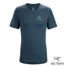 Arcteryx 始祖鳥 男 有機棉 短袖T恤 藍
