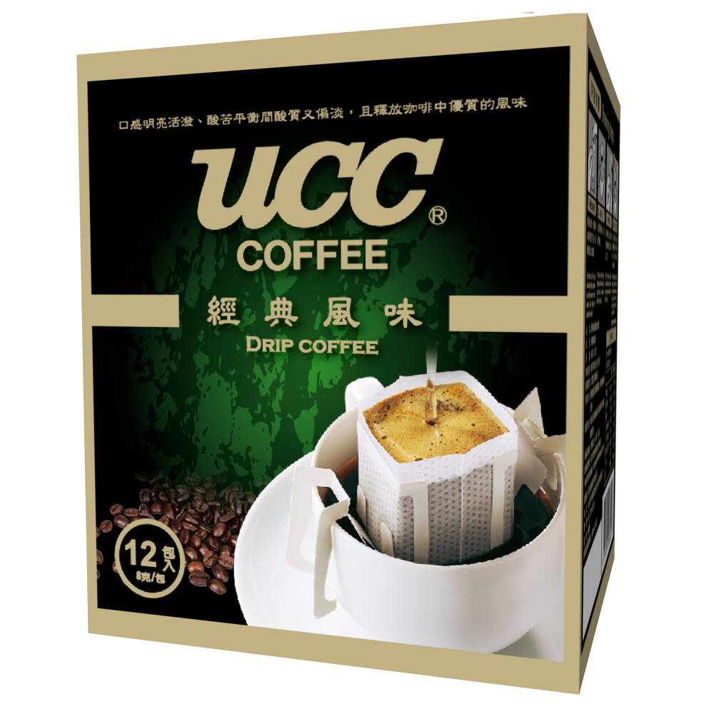 UCC 經典風味濾掛式咖啡(8gx12入)
