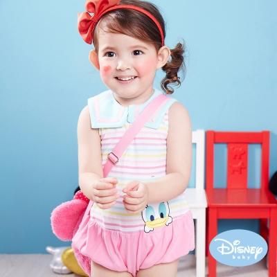 Disney Baby 歡樂水手米妮包屁衣 粉紅