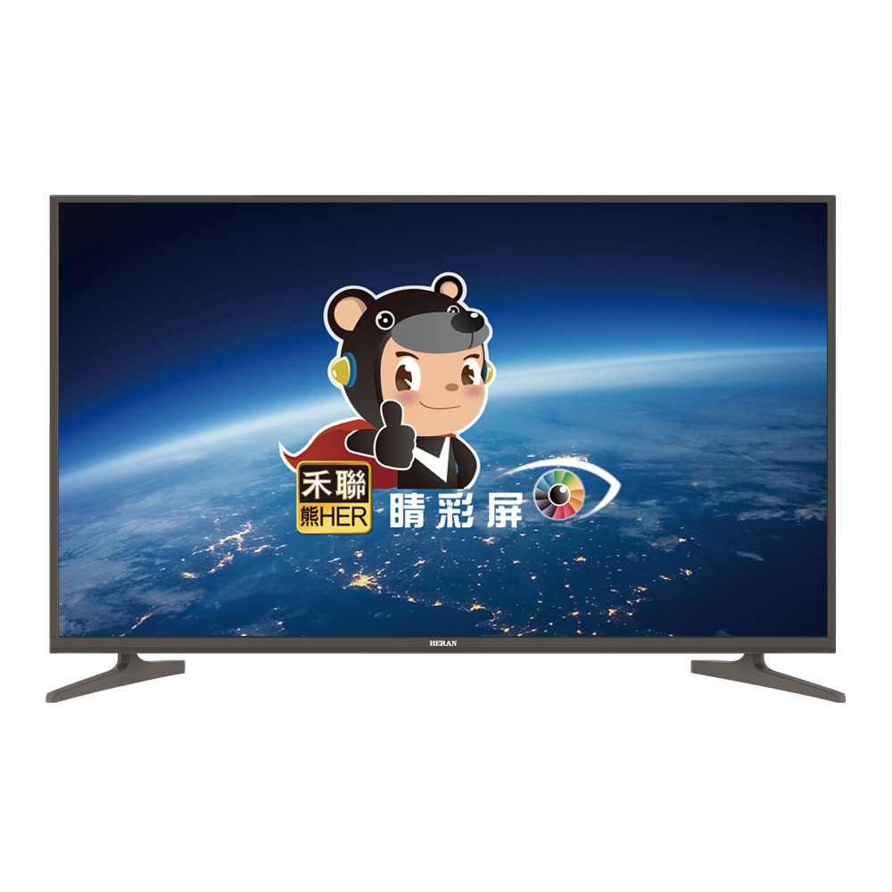 HERAN禾聯 50吋 4K UHD 內建聯網 LED液晶顯示器+視訊盒 504K-C2