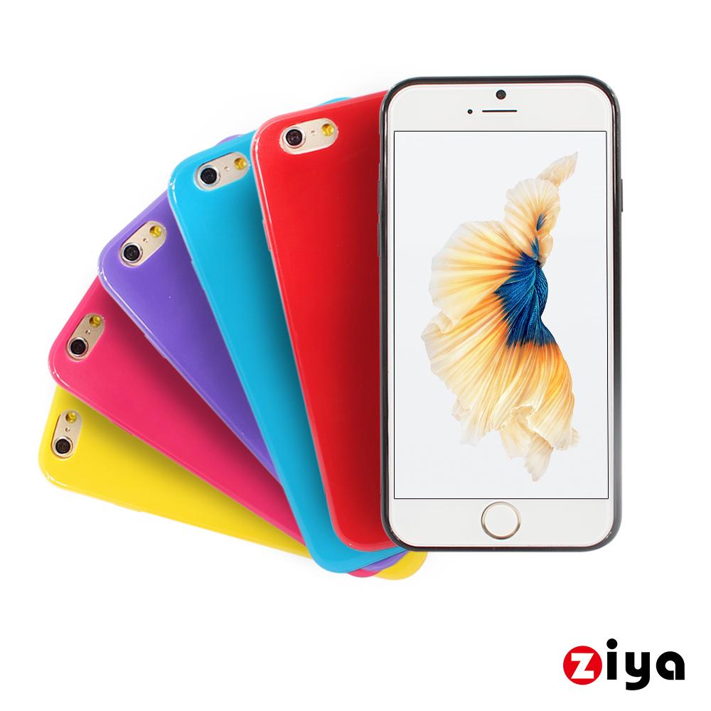 ZIYA Apple iPhone 6s Plus輕薄軟質保護殼套經典色系列
