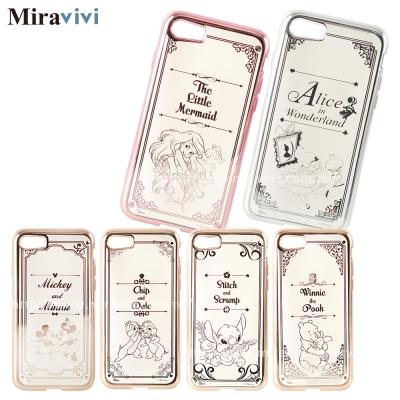 Disney迪士尼iPhone 8/7(4.7吋)時尚質感電鍍保護套-畫框系列