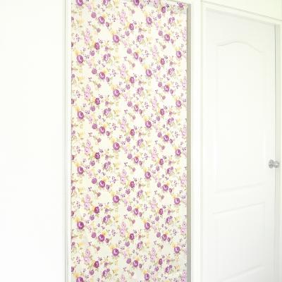布安於室-花開富貴遮光風水簾-米底