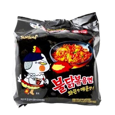 SAMYANG 辣炒雞肉鐵板麵(140gx5入)