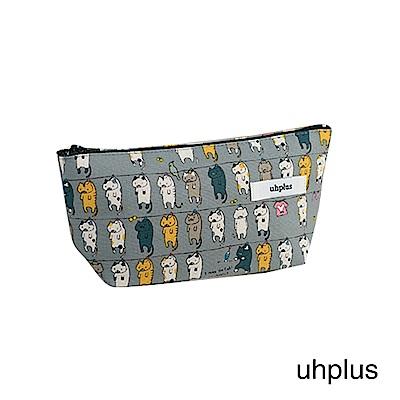 uhplus Q-plus萬用收納包 – 曬貓咪