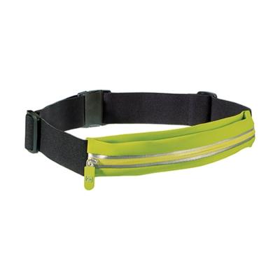 Go Travel 貼身彈性腰包-綠+黑