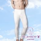 PLAYBOY 100%純棉 親膚保暖長褲