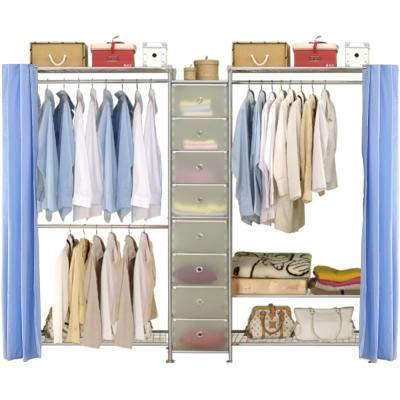 巴塞隆納─W2型90+D+W3型90衣櫥置物櫃