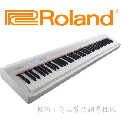 ROLAND FP~30 電鋼琴 白色款