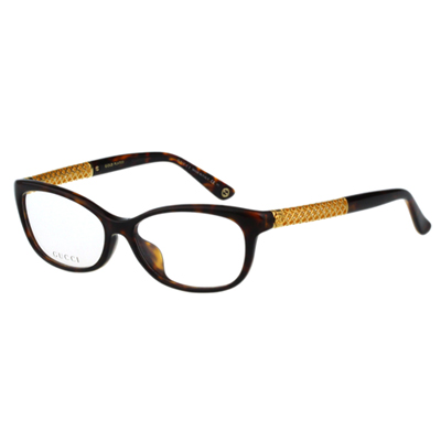 GUCCI-時尚光學眼鏡(琥珀色) @ Y!購物