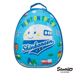 Hello Kitty 新幹線12吋蛋型後背包-SS00B01RB