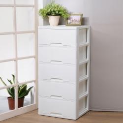 創意達人溫柔棉花大容量五抽收納櫃(172.5L)