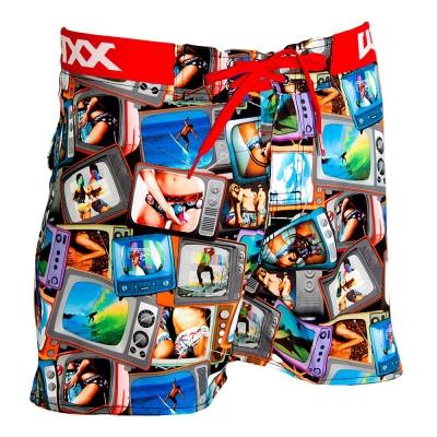WAXX 電磁波特輯高質感吸濕排汗運動海灘短褲