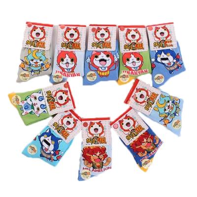 妖怪手錶兒童短襪(隨機出貨 4雙一組)  k50208