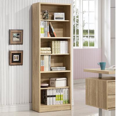 COMDESK六段厚板高書櫃-60x29.5x180cm-DIY