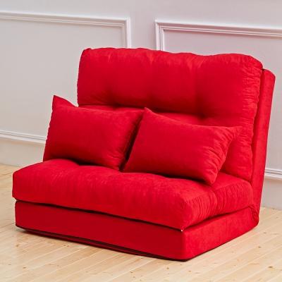 Bed Maker-狂野玫瑰花 沙發床椅/台灣製/送兩顆抱枕(四色)
