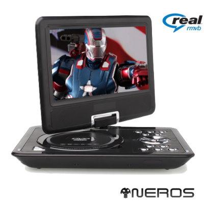 NEROS 7吋 鋼鐵旋風 移動式RM-DVD(可撥2小時)