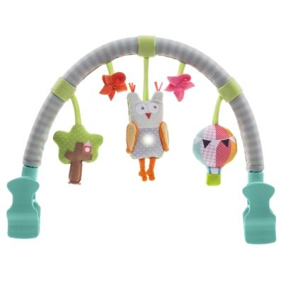 taf toys五感開發系列-貓頭鷹音樂拱架