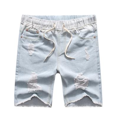 Kernel-頹廢-大破壞-刷色-牛仔褲-短褲-共
