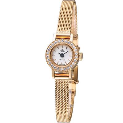 玫瑰錶 Rosemont 復刻迷你版玫瑰系列時尚腕錶-玫瑰金/16mm