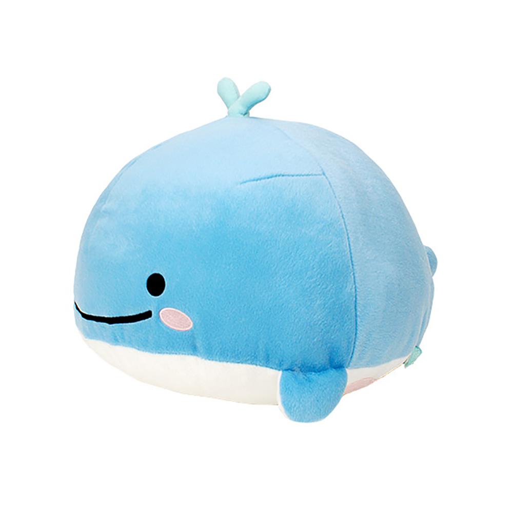 FANS 日版 三麗鷗 海洋生物 JINBESAN 鯨魚先生 藍色鯨魚 絨毛娃娃 B款