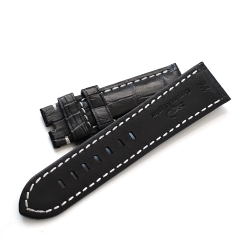 PARNIS BOX 進口高級真鱷魚錶帶 24mm限量 沛納海代用 特殊色