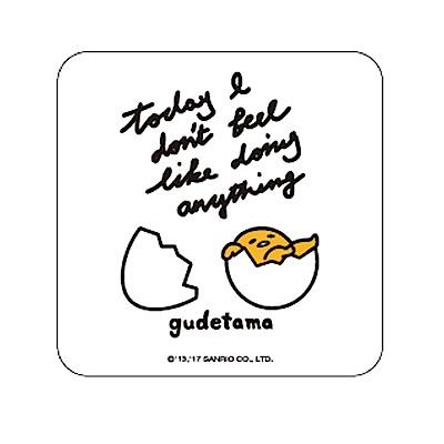 【三麗鷗獨家授權】蛋黃哥繽紛彩繪杯墊/皂盤-休憩生活