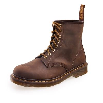 (男) Dr.Martens 1460 經典8孔刷色馬汀靴*咖啡