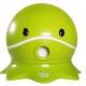 寶貝樂 可愛章魚幼兒馬桶學便器-綠色 product thumbnail 1