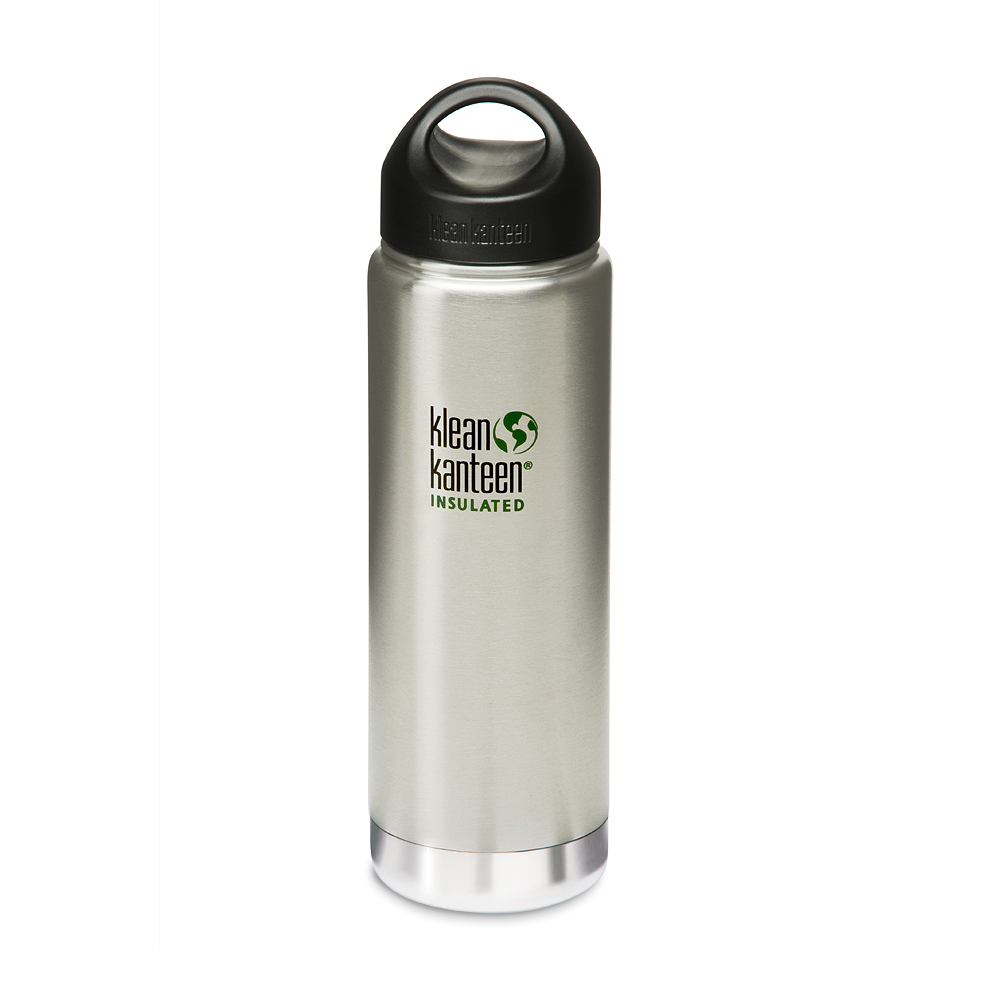 美國Klean Kanteen保溫鋼瓶591ml-原色鋼