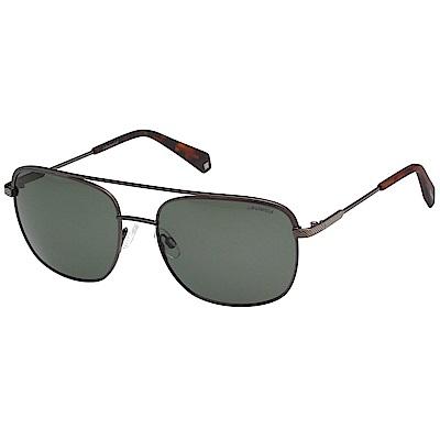 Polaroid 寶麗萊 偏光太陽眼鏡 (槍色)PLD2056S